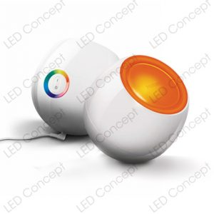 LUMINARIA DE MESA LIC COLOR LED RGB - BLANCA
