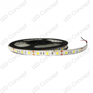 Cinta LED SMD 5050 14.4 Watts x mt Exterior (Rollo de 5 mts)