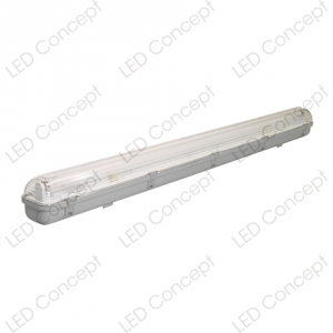 Equipo Estanco con Tubo LED 1250x75x80 mm