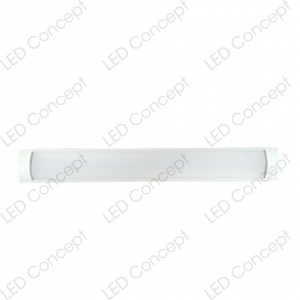Luminaria Tipo Canoa LED 1200x75x25 mm